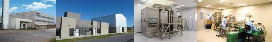 Laboratorios König, plantas industriales