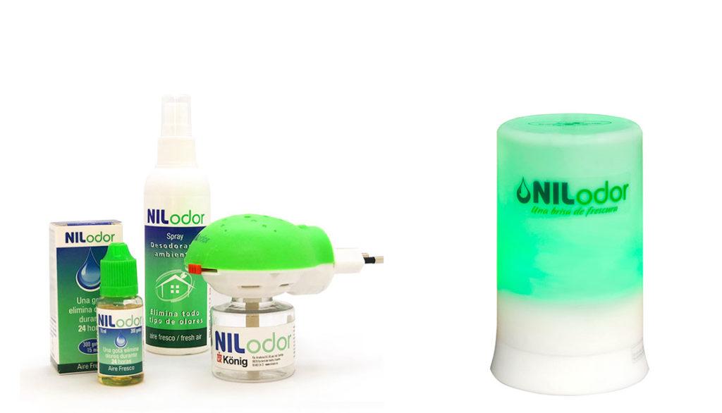 nilodor, neutralizador de olores